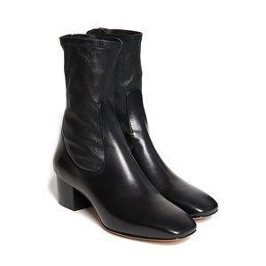 Sandro Black Amele Boots size 37